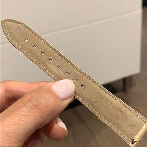 Michele Accessories - Michele alligator watch strap like new